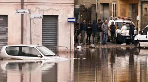 alluvione sardegna, Sicilia, Archivio, Cronaca