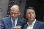 Renzi detta le regole a Letta e avverte Alfano