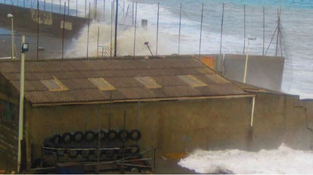 erosione costiera, Messina, Archivio