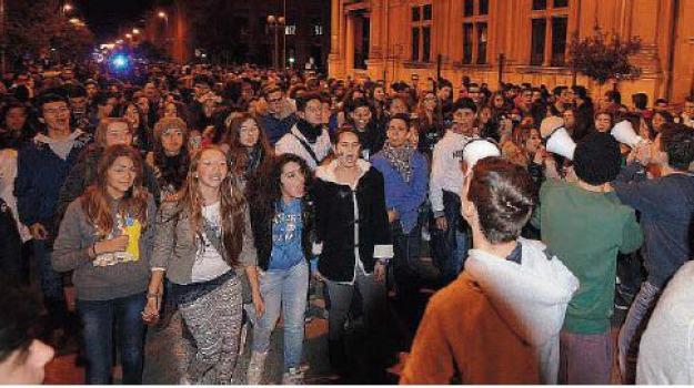 corteo studenti, Messina, Archivio