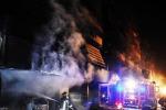 Incendio a Cinecittà, distrutta la casa del Grande Fratello