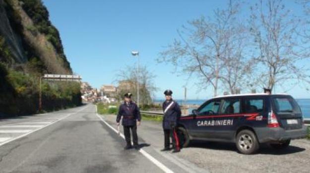 bar, carabinieri, cetraro, furto, posto di blocco, Sicilia, Archivio