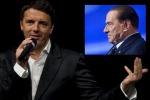 """Berlusconi """" Le riforme di Renzi sono le nostre"""""""