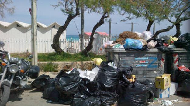 cassonetti, ganzirri, rifiuti, Messina, Archivio