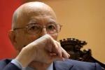Napolitano a Strasburgo contestato dalla Lega