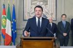 """Renzi premier incaricato """"Lavorerò con coraggio"""""""