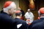 """Il Papa ai Cardinali """"Evitare intrighi"""""""