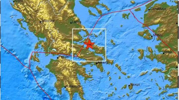 terremoto grecia, Sicilia, Archivio