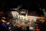 Crolla palazzina nel Torinese, 6 feriti Salve due bimbe