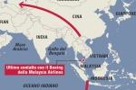 Ecco come sarebbe scomparso l'aereo malese