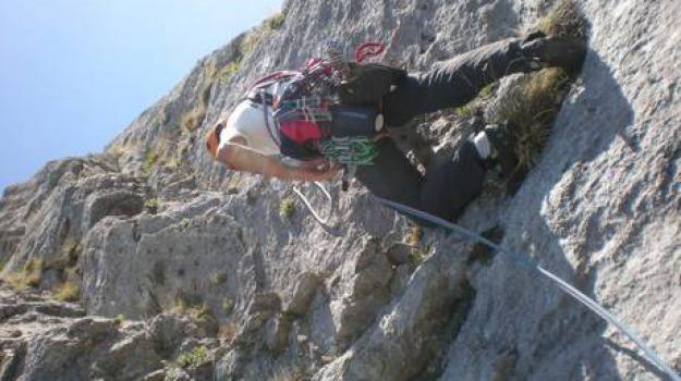 alpinista, marco anghileri, monte bianco, morto, Sicilia, Archivio, Cronaca