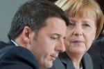 Bilaterale Merkel-Renzi apre vertice Germania-Italia