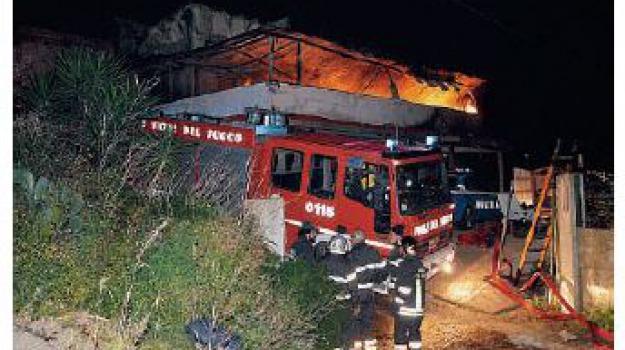 incendio pace, Messina, Archivio