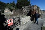 Pompei, scomparso un affresco