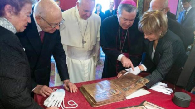 codex rosanensis, giuseppe antoniotti, riconoscimento, rossano, unesco, Calabria, Archivio
