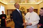 """Il Papa riceve Obama """"Sfida alla povertà"""""""