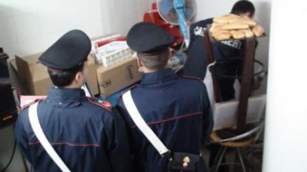 arresti, auchan, carabinieri corigliano, furto, oviesse, Calabria, Archivio