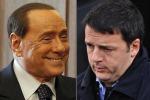 Renzi-Berlusconi, tempi brevi su legge elettorale