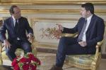 "Renzi-Hollande ""Insieme nuova Europa"""
