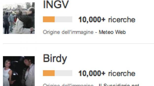 amici, birdy, google trends, ingv, inter-bologna, robert de niro, Sicilia, Archivio, Cronaca