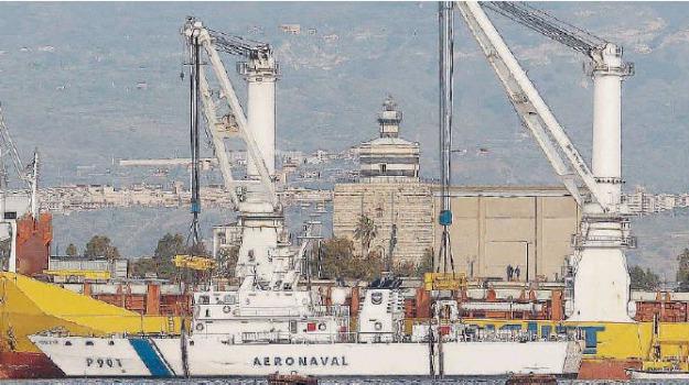 marina militare, zona falcata, Messina, Archivio