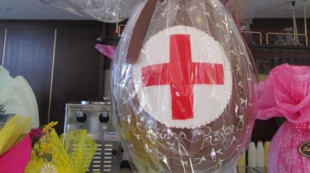 croce rossa rossano, scuole, uova di pasqua, Sicilia, Archivio