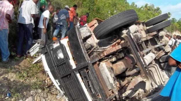 camion sovraccarico, haiti, morti, Sicilia, Archivio