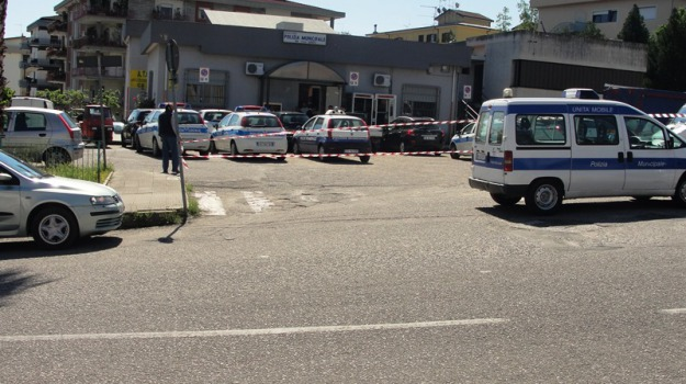 polizia municipale, rossano, Calabria, Archivio