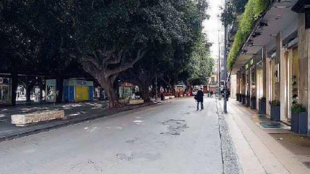 isola pedonale, Messina, Archivio