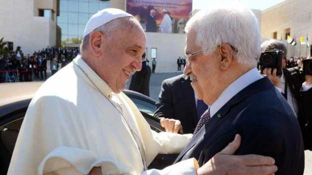papa palestina, Sicilia, Archivio, Cronaca