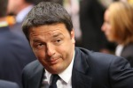 """Renzi """" Qui a rappresentare uno dei più grandi Paesi dell'UE"""""""