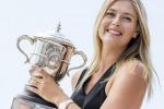 Sharapova, le foto della premiazione