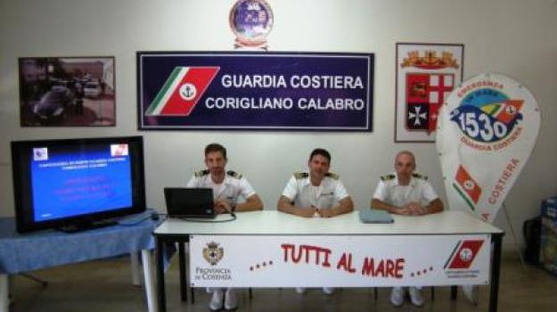 corigliano calabro, guardia costiera, operazione mare sicuro, Sicilia, Archivio