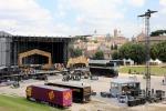 Rolling Stones a Roma Scatta la zona rossa