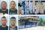 Colpo all'Euronics, braccati di notte e arrestati