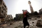 Oltre 120 morti nei raid israeliani