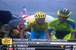 Nibali terzo sui Vosgi, è duello con Contador