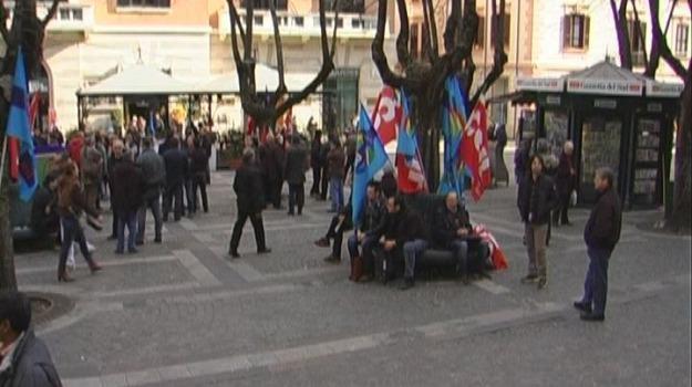 consiglio regionale, lsu-lpu, protesta, usb, Calabria, Archivio