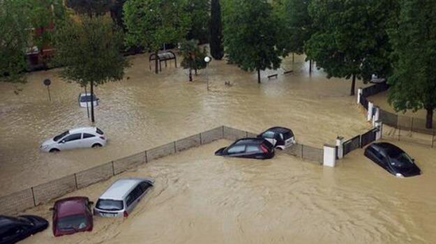 alluvione, maltempo, senigallia, Sicilia, Archivio, Cronaca