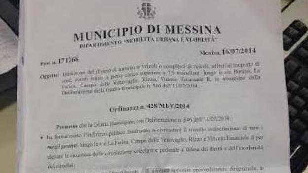 cartour ordinanza, Sicilia, Archivio