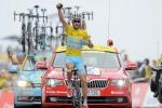 Nibali re di Francia poker in giallo sull'Hautacam
