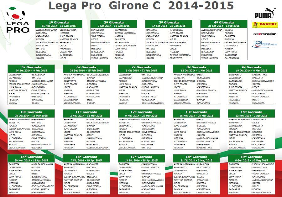 Calendario Juve Stabia.Lega Pro Ecco Il Calendario Campionato Spezzatino Si Gioca
