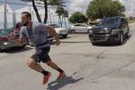 Marco Belinelli si allena come Rocky