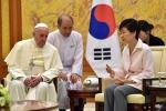 Francesco a Seul La Corea del Nord spara