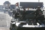 Ucraina, incursione colonna militare russa
