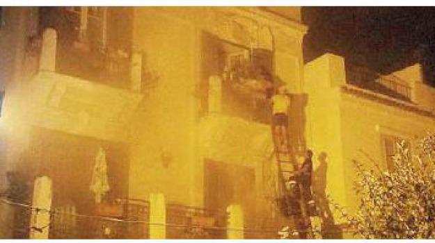 incendio, lipari, Sicilia, Archivio