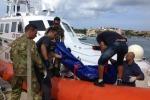 Recuperati 18 cadaveri a sud di Lampedusa