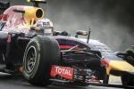 Vince Ricciardo dietro Rosberg e Bottas