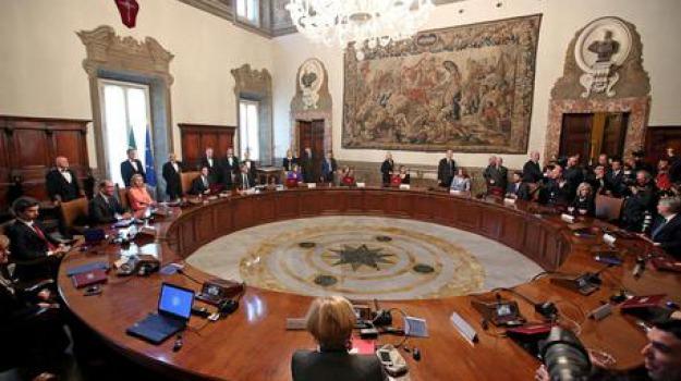 consiglio dei ministri, Sicilia, Archivio, Cronaca