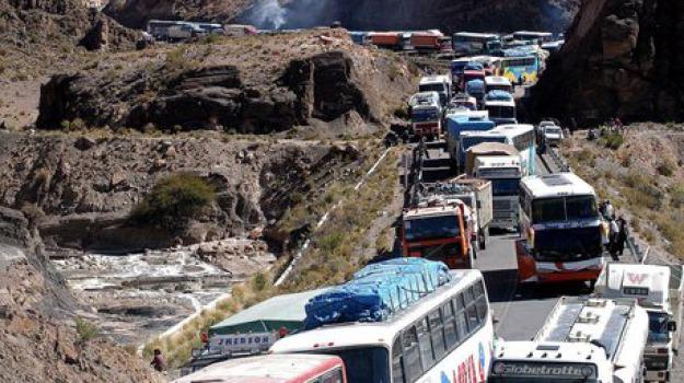 bolivia, incidente stradale, Sicilia, Archivio, Cronaca